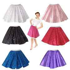 Ladies Adults Sequin Circle skirt -  Dance, Disco, Hen party, Theatre,