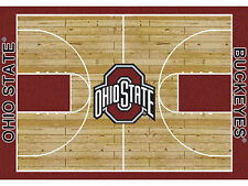 Ohio State Collegiate Home Court Area Rug Man Cave Bedroom