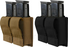 Double 9 MM Pistol Mag Military Gear MOLLE Pouch