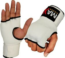 NEW  Gel Padded INNER Gloves Hand Wrap boxing bag MMA UFC CARBON FIBER INNERS WP