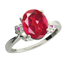 2.52 Ct Oval Last Dance Pink Mystic Quartz Sapphire 925 Silver Ring