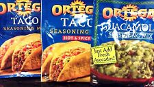 3pkt Ortega Taco Seaoning Mix   4 Choices