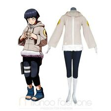 Naruto Hinata Hyuga Part I Deluxe Cosplay Costume Animation Suit All Size