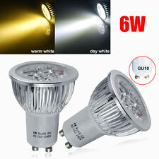 BUY 10 GET 2 FREE 4/12X GU10 6W LED Spot Bulbs Spotlight Warm/Day White Light UK