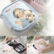 Afrocat Paper Doll Mate Small Pouch Cosmetic Makeup Bag Case Pencil Gift Case