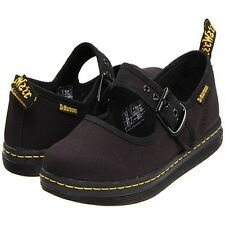 Dr. Martens Women's Carnaby Black Canvas Mary Jane Shoes R13526002