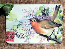 Hang Tags  SWEET BIRD POSTCARD TAGS or MAGNET #458  Gift Tags