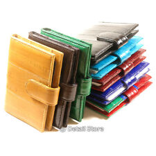 New EEL SKIN Credit/Business Card Holder/Case/Wallet transparent plastic INSERT