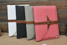 NEW 360 Degree Rotate Detachable Envelope Leather stand cover Case For iPad MINI