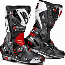Sidi Vortice  Motorcycle Boots - Black / Red / White