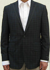 New Rock & Republic Slim Fit Mens Plaid Suit Jacket  Blazer Size 46L/48L $250