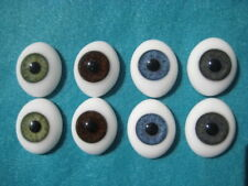 SOLID GLASS EYES 24mm FOR REBORN DOLL KITS & OOAK BABIES *PHIL DONNELLY BABIES*