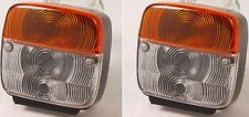 Tractor trailer agricultural machine Front Side Lamp Light (108x100x50mm)