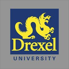 Drexel Dragons NCAA College Vinyl Decal Sticker Car Window Wall