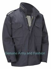 M65 US FIELD JACKET QUILT LINER VINTAGE MILITARY ARMY COMBAT COAT NAVY