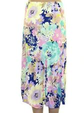 Marks & Spencer Floral Summer Pastel Pleated M&S Skirt - Free P&P - Sizes 8-18