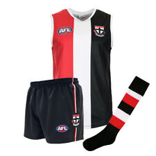 Official AFL Footy St Kilda Saints Kids Youth Auskick Jumper Guernsey Shorts Soc