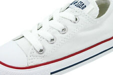New Converse CT All Star Canvas Optical White low Top infant Toddler  Authentic