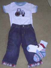 GYMBOREE I DIG DOGS SHORTS SHIRT JEANS SOCKS NWT 12-18 18-24 LOT