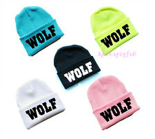 EXO KRIS LUHAN TAO KAI SEHUN XOXO WOLF FIRST YEAR HAT KNIT CAP KPOP NEW