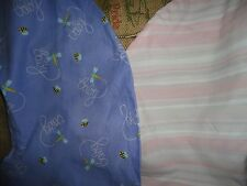 BOPPY COVER BUTTERFLIES, MOD STRIPES OR BEES & DRAGONFLIES PURPLE PINK YELLOW