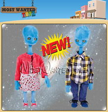 Argos Alien TV Ad Family - Chad Valley Alien Mum & Dad Dolls - BRAND NEW