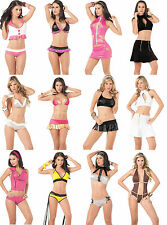 Wholesale Lot Women's Stretchy BIKINI EXOTIC Dance Lingerie Club wear S M L XL