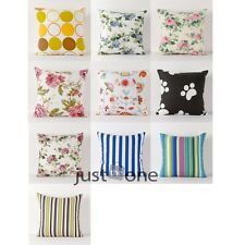 Hot Sale Pastoral Style Canvas Pillow Case Cushion Cover for Bed Sofa Decor NEW