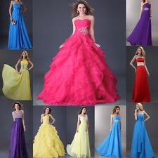 New Long Wedding Party Bridesmaids Evening Formal Prom Long Formal Dresses Gown