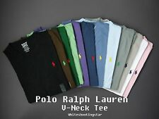 NWT Polo Ralph Lauren Men's Short Sleeve Pony Classic Fit V-Neck T-Shirt Tee