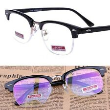 Black SHURON'S Vintage Eyeglass Frame Reading Glasses UV +1 +1.5 +2 +2.5 +3 +4