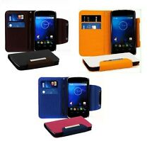 1X PU Leather Wallet Stand Case Cover for LG E960 Google Nexus 4 NEW