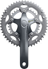 Shimano Claris 2450 2403 8 speed chainset  compact triple 34/50 34/46 50/39/30T