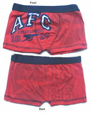 Arsenal Football Club Boys Boxer Shorts Age 5-12 Years Available