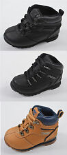 Boys Girls Kids Toddlers Infants Childrens Timberland Designer Lace Up Boots