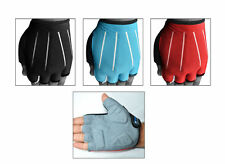 Cycling Bicycle Fingerless Gloves Cycle Foam Padded on Palm Road S,M,L,XL