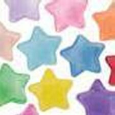 Pearl Star Pony Beads Mixed or Single Colour, Size approx 13mm (PBSP)