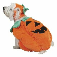 Pumpkin Pooch Dog Costume Cap Halloween Soft Plush Zack & Zoey