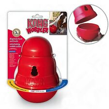 Kong Wobbler Dog Treat Dispenser Chew Toy All Sizes