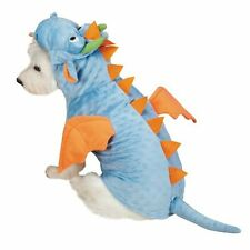 Dimple Dragon Dog Costume Spikes Tail Wings Horns Low-Pile Plush ZACK & ZOEY