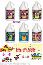 Pet Grooming CRAZY DOG PREMIUM Conditioning SHAMPOO Gallon CONCENTRATE Puppy Cat