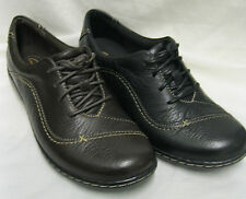 *SALE* Ladies Clarks Embrace Brook Black or Brown Leather Lace Up D Fitting