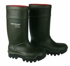 Dunlop Green thermo wellies( fishing,factory,farming cold weather ,waterproof