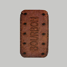 Bourbon Biscuit Mobile PHONE CASE POUCH FITS HTC THE ONE,ONE X ,ONE MINI, ONE V
