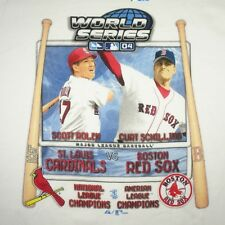 CURT SCHILLING Boston Red Sox 2004 World Series T-Shirt
