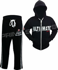 New Prime Sports Men Full Zip Tracksuit Hoodie Bottom Fleece Trouser & Top