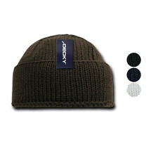 New Decky Sailor Navy Fisherman Beanie Beanies Warm Winter Thick Knitted Acrylic