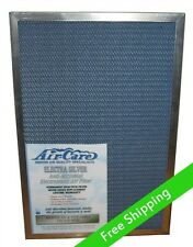 Air Care 20x20x1 Silver Electrostatic Filter - Permanent, Washable, Save $$$