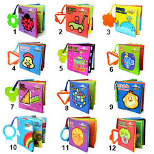 INFANT BABY KID BOOK CLOTH INTELLIGENCE DEVELOPMENT COGNIZE BOOK CUTE TOY B75K