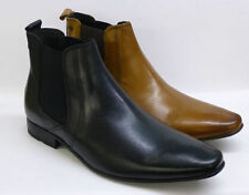 Base London Gents  Leather Chelsea Ankle Boots (BASE LONDON ARTHUR MTO)